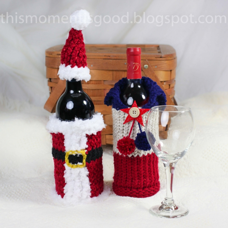 Christmas Wine Gift Baskets