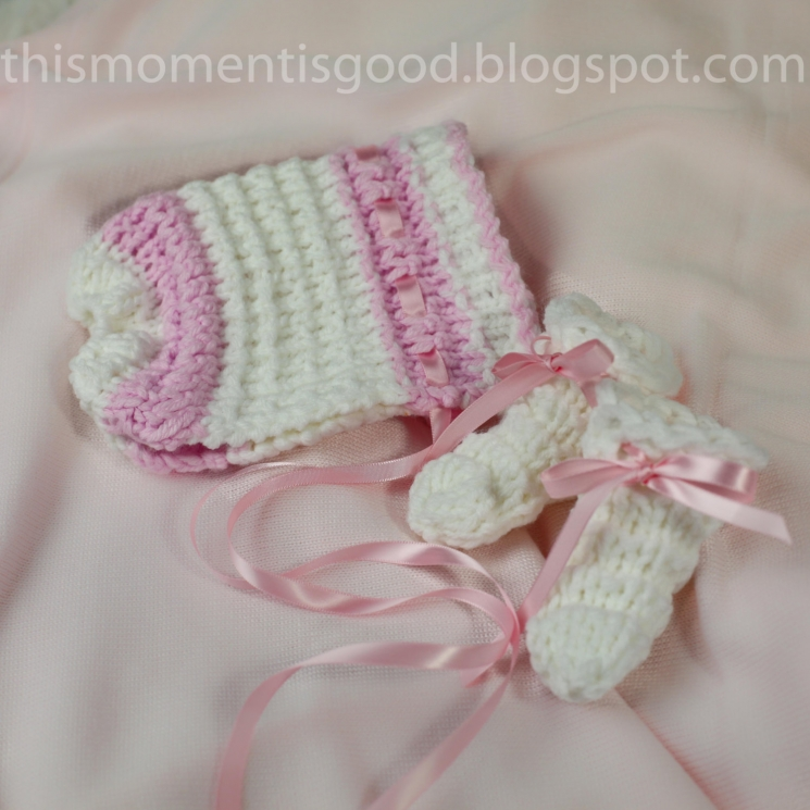 LOOM KNIT BABY ONESIE SET PATTERN