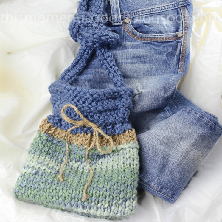 LOOM KNIT HANDBAG PATTERN