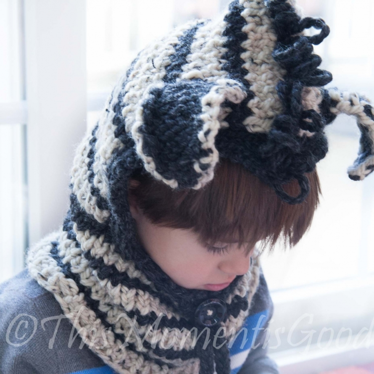 LOOM KNIT HOOD (3) PATTERN COLLECTION