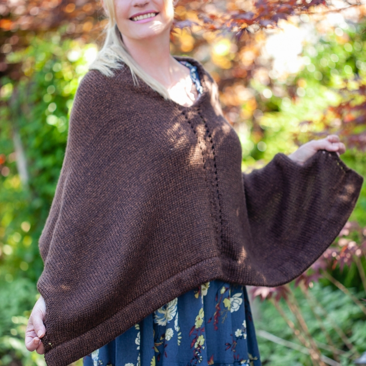 Loom Knit Poncho Cape Pattern By This Moment Is Good