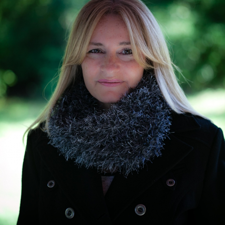 Loom Knit Faux Fur Cowl PATTERN, Inspired by the Scottish Highland Series