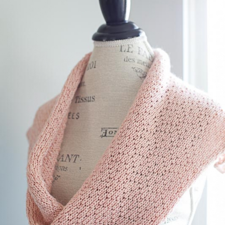 Loom Knit Lace Shawl, Snood, Cowl, Scarf, Table Runner Pattern Collection. 4 des