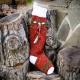 LOOM KNIT CHRISTMAS STOCKING PATTERN