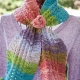 Loom Knit Eyelet & Ripple Scarf Pattern