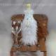 LOOM KNIT WINE BOTTLE COVER PATTERN BRIDE & GROOM