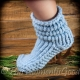 LOOM KNIT SLIPPER BOOTS PATTERN. THE BUNCHY BOOT PATTERN!