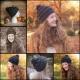 Loom Knit Hat PATTERN, City Storm Urban Style Hat, beginner, slouch, beanie hat.