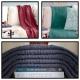 Loom Knit Blanket PDF PATTERN, The Fisherman's Blanket, Modern, Minimalist Style