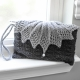 Loom Knit Clutch, Purse, Evening Bag, Wristlet PATTERN. Elegant Evening Bag, Wed