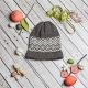 Loom Knit Fair Isle Hat Patterns. 6 PDF Patterns Included.
