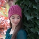 Loom Knit Eyelet Lace Hat Pattern, PDF PATTERN Download