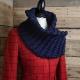 Loom Knit Sassenach Cowl PATTERN, Chunky Cowl Pattern