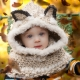 Loom Knit Wolf Hood PDF PATTERN. Oversized and Warm, Quick Project! Digital Down