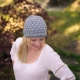 Loom Knit Tote, Stitch & Hat Pattern Set. 2 Loom Knitting Patterns + Stitch Inst