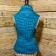 Loom Knit Vest Pattern, The Everyday Ladies Vest Pattern, 5 sizes, Instant PDF D