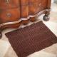 Loom knit rug pattern, area rug, bathmat, doormat, accent rug. PDF