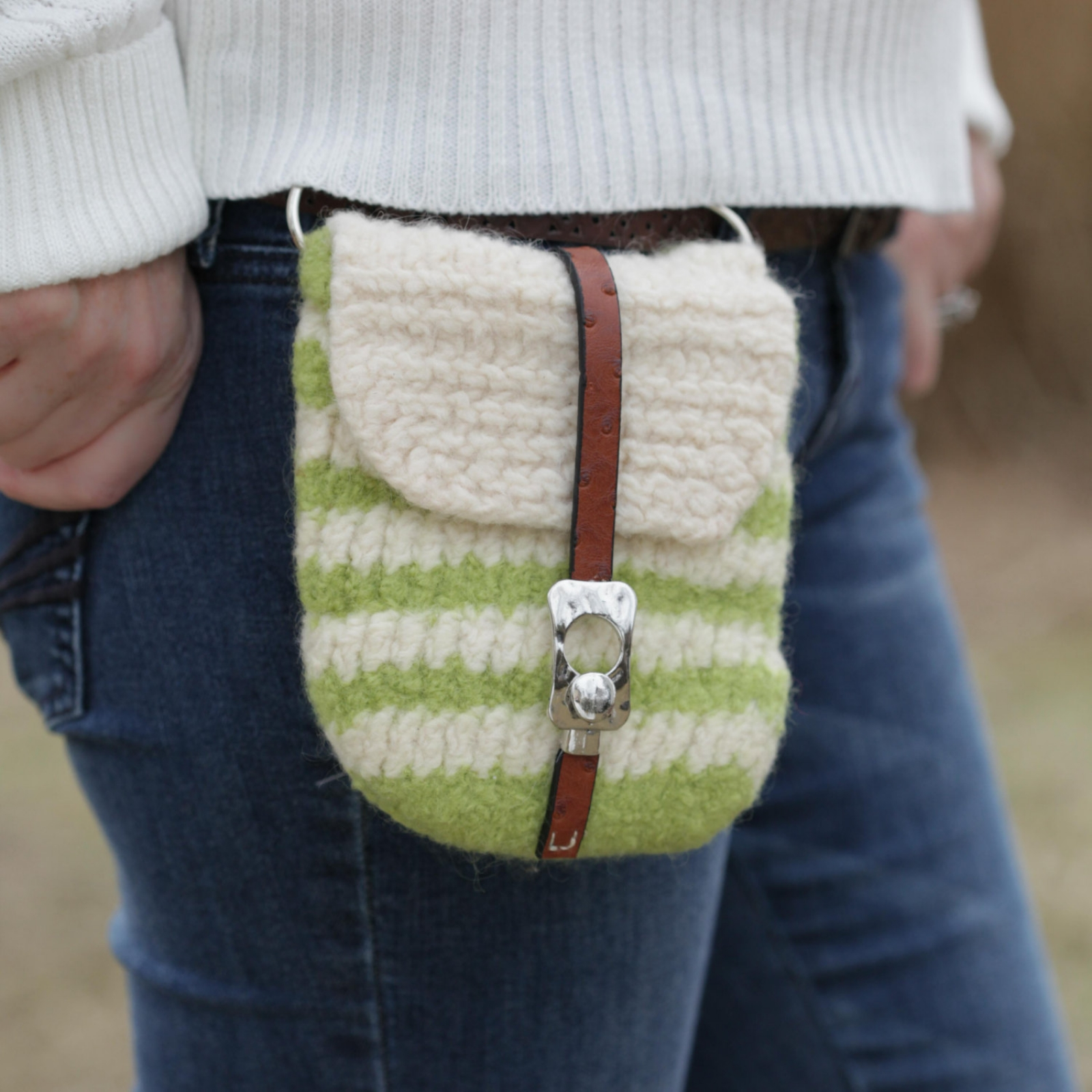 LOOM KNIT HANDBAG PATTERNS LOOM KNIT PURSE, LOOM KNIT TOTE, FELTED ...