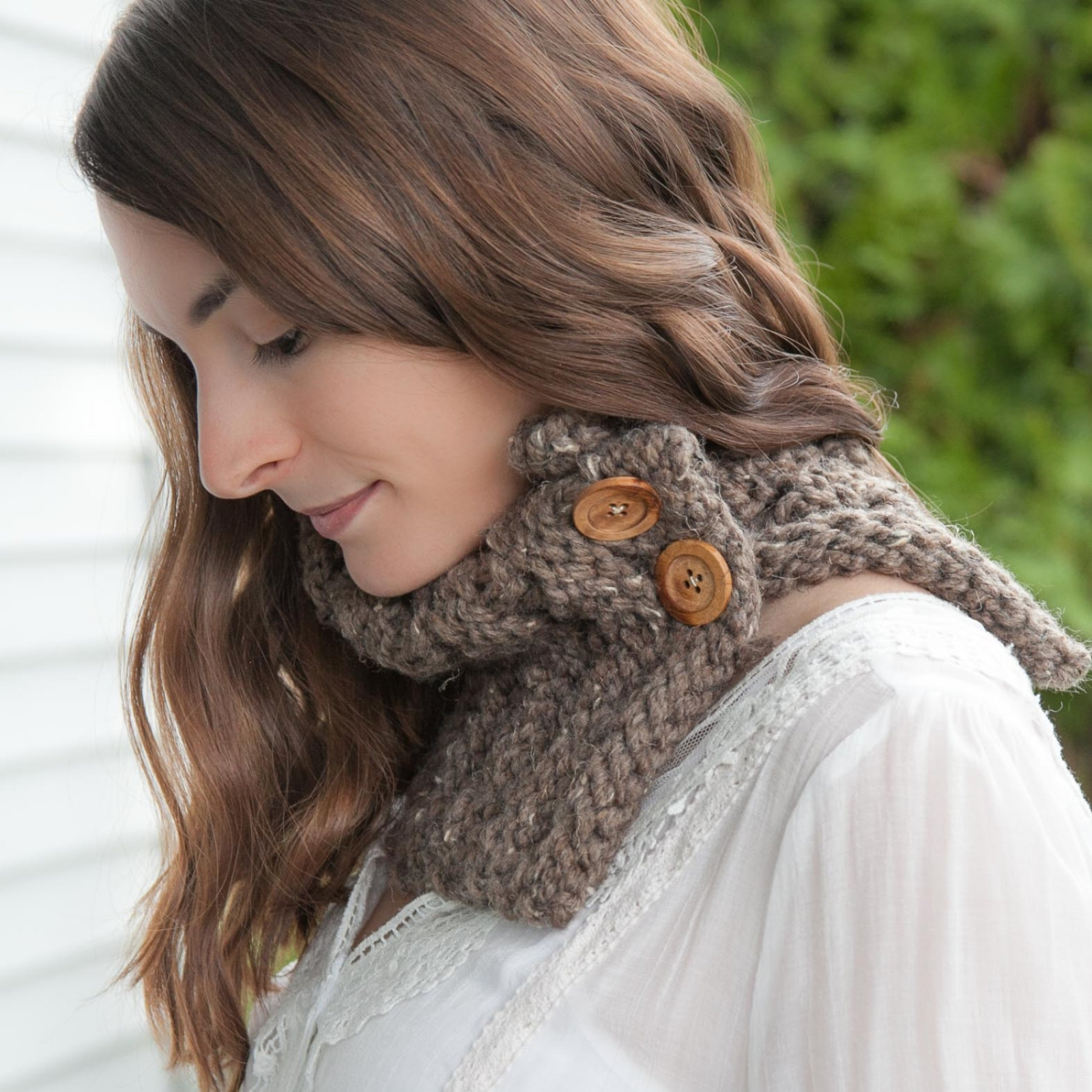 Loom Knit Cowl Pattern. Loom Knit Chunky Knit Cowl with ...
