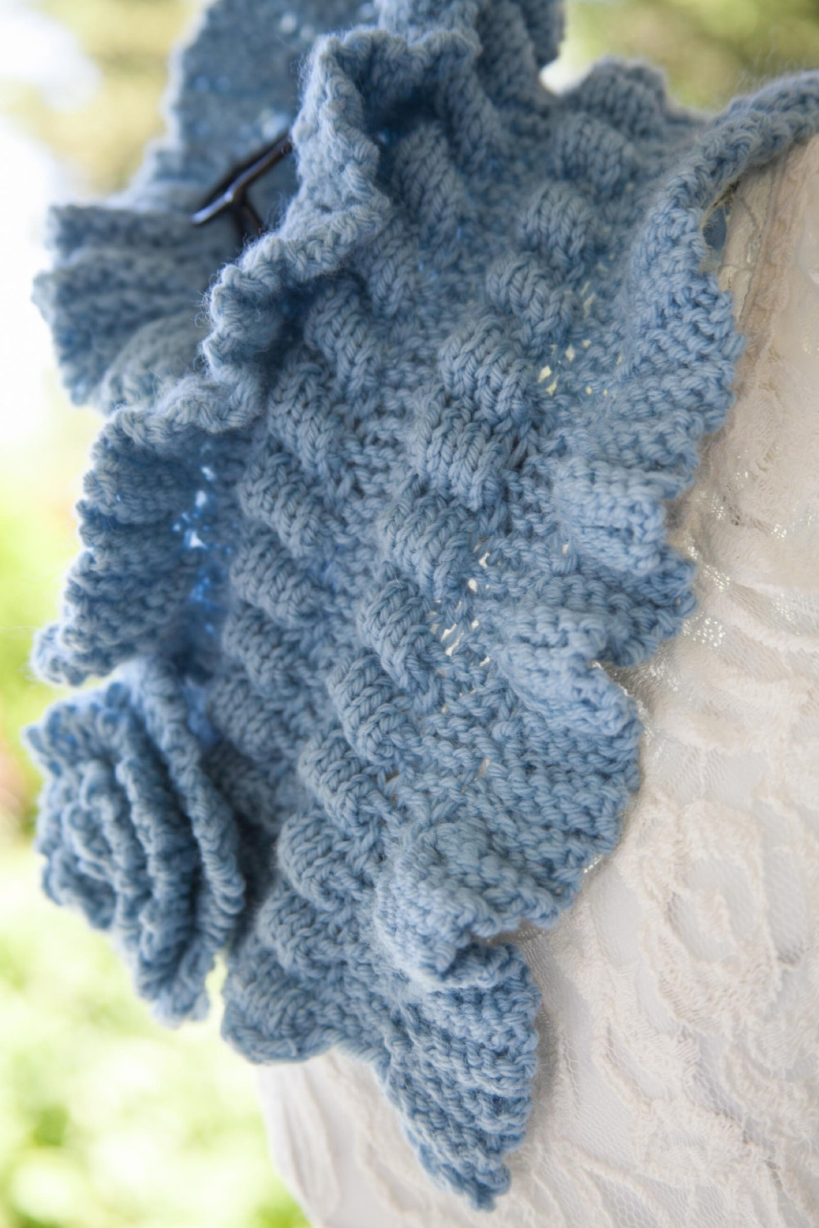 Loom Knit Victorian Cowl, Neckwarmer Pattern This Moment is Good