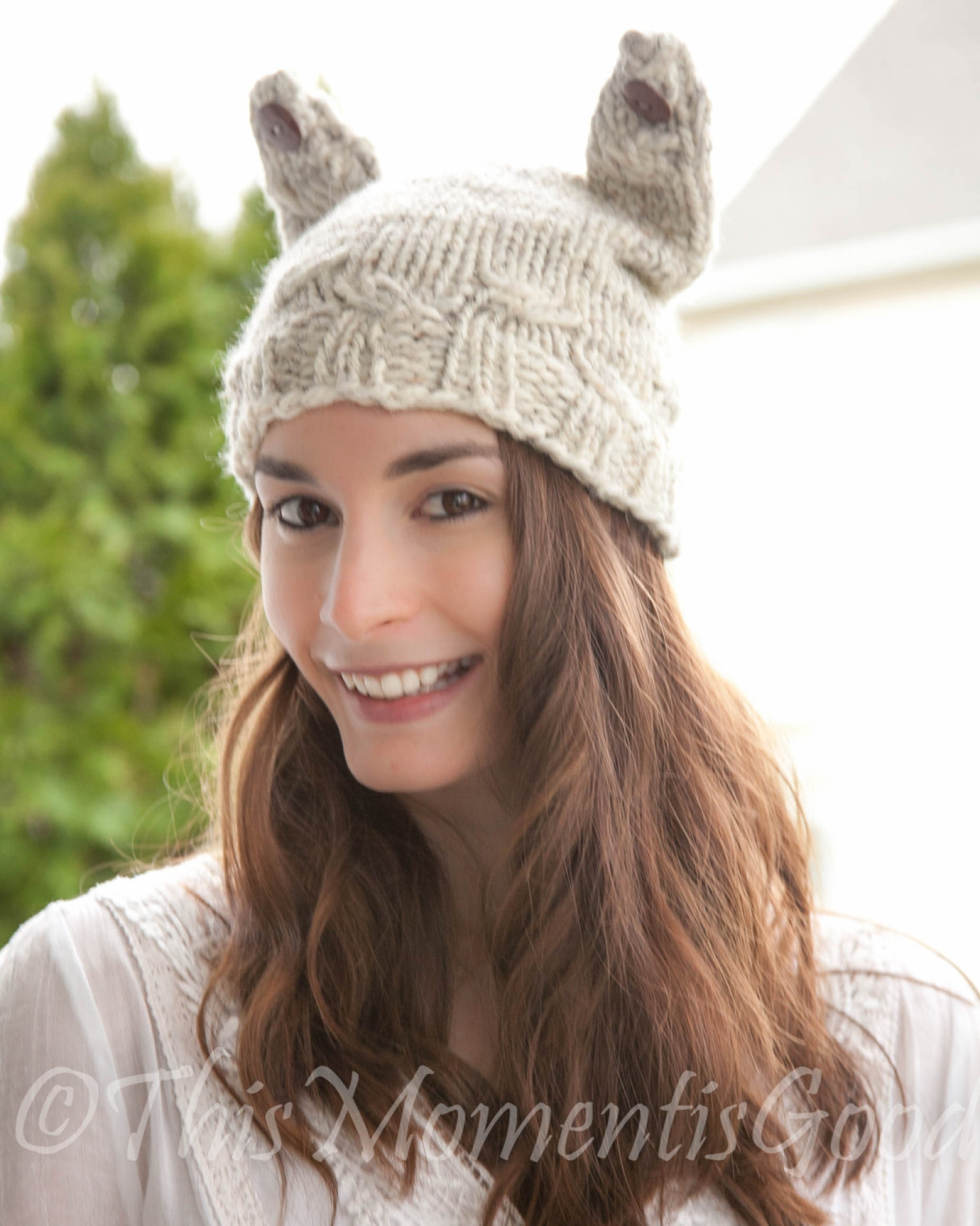 Loom Knit Cat Hat Pattern The Cable Kitty Hat This Moment Is Good