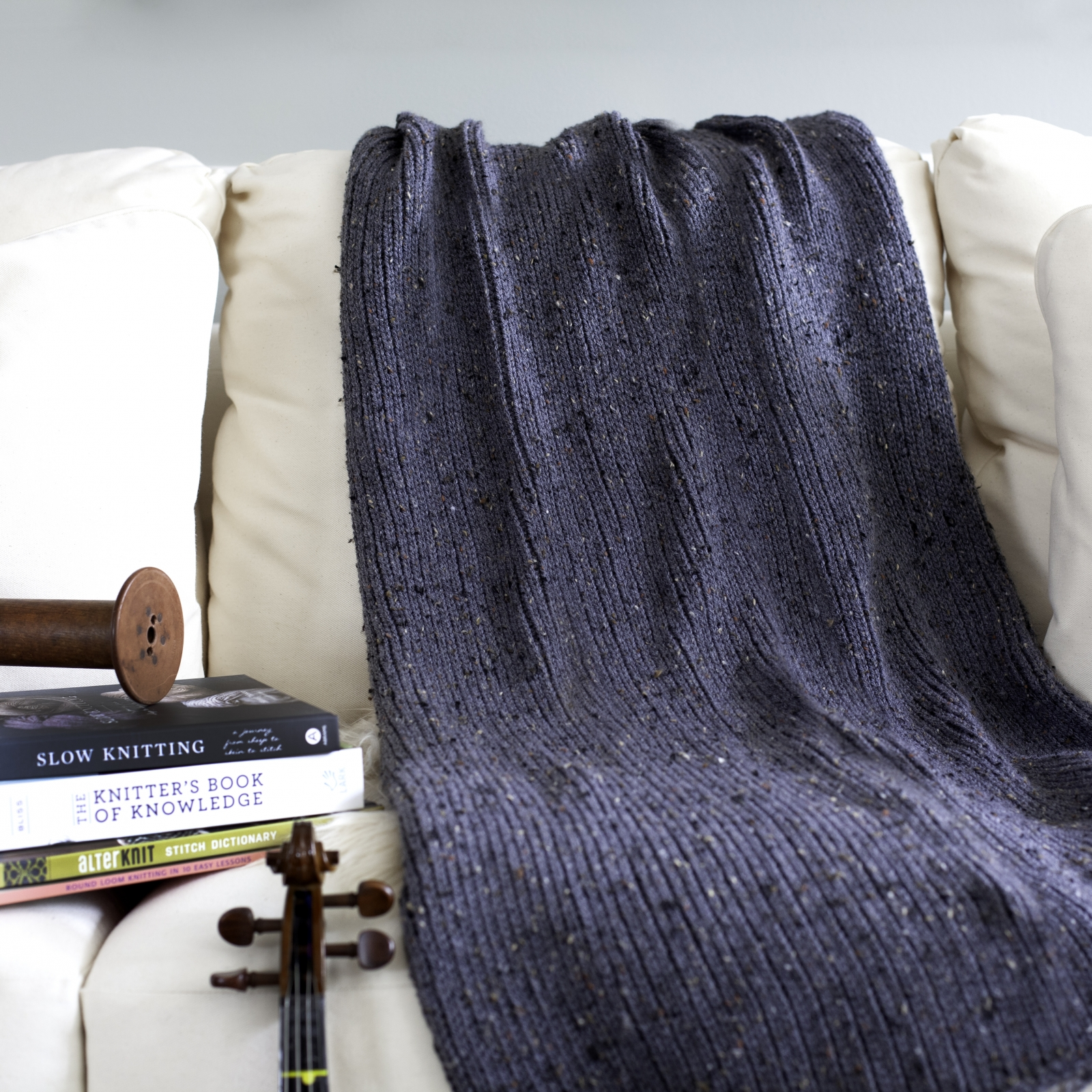 Loom Knit Blanket Pdf Pattern The Fisherman S Blanket Modern