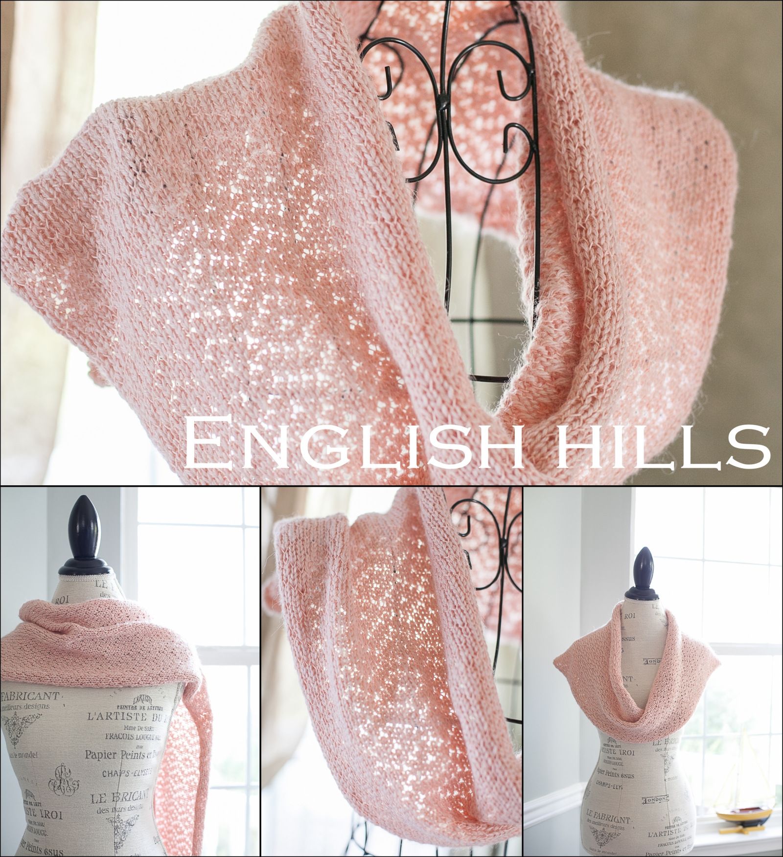 Loom Knit Lace Shawl, Snood, Cowl, Scarf, Table Runner Patterns ...