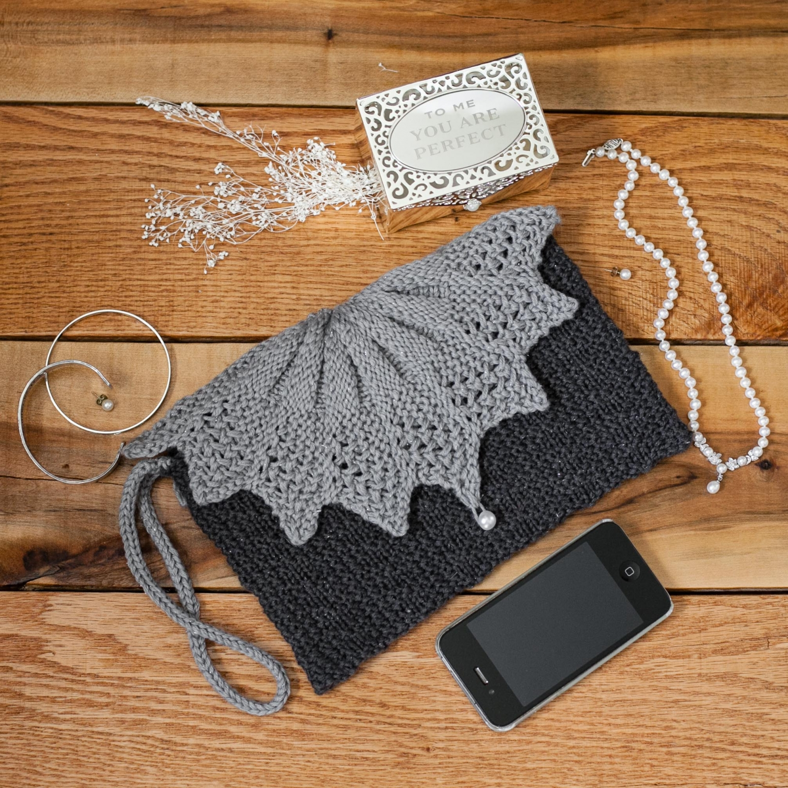 Loom Knit Clutch, Purse, Evening Bag, Wristlet PATTERN. | This ...