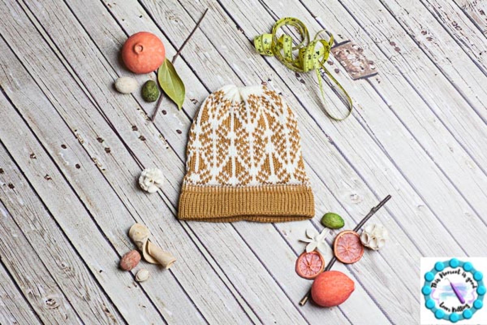 Loom Knit Fair Isle Hat Patterns 6 Pdf Loom Knitting