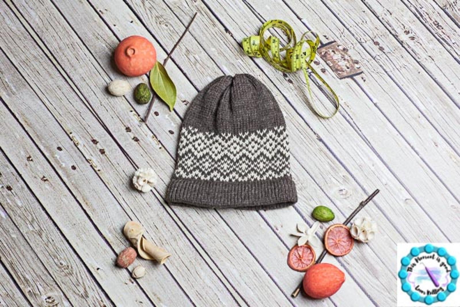 Loom Knit Fair Isle Hat Patterns. 6 PDF Loom Knitting Patterns ...