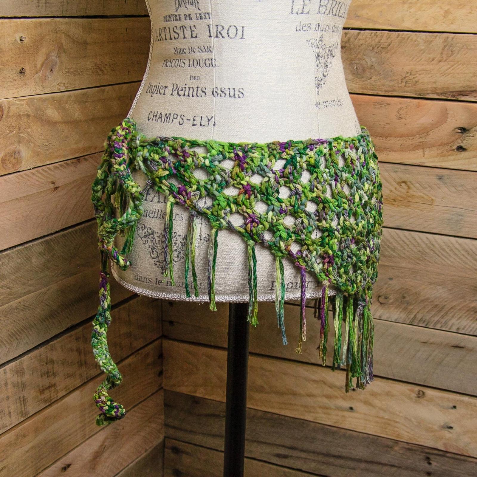 Loom knit sarong pattern, loom knit bandanna scarf pattern, loom ...