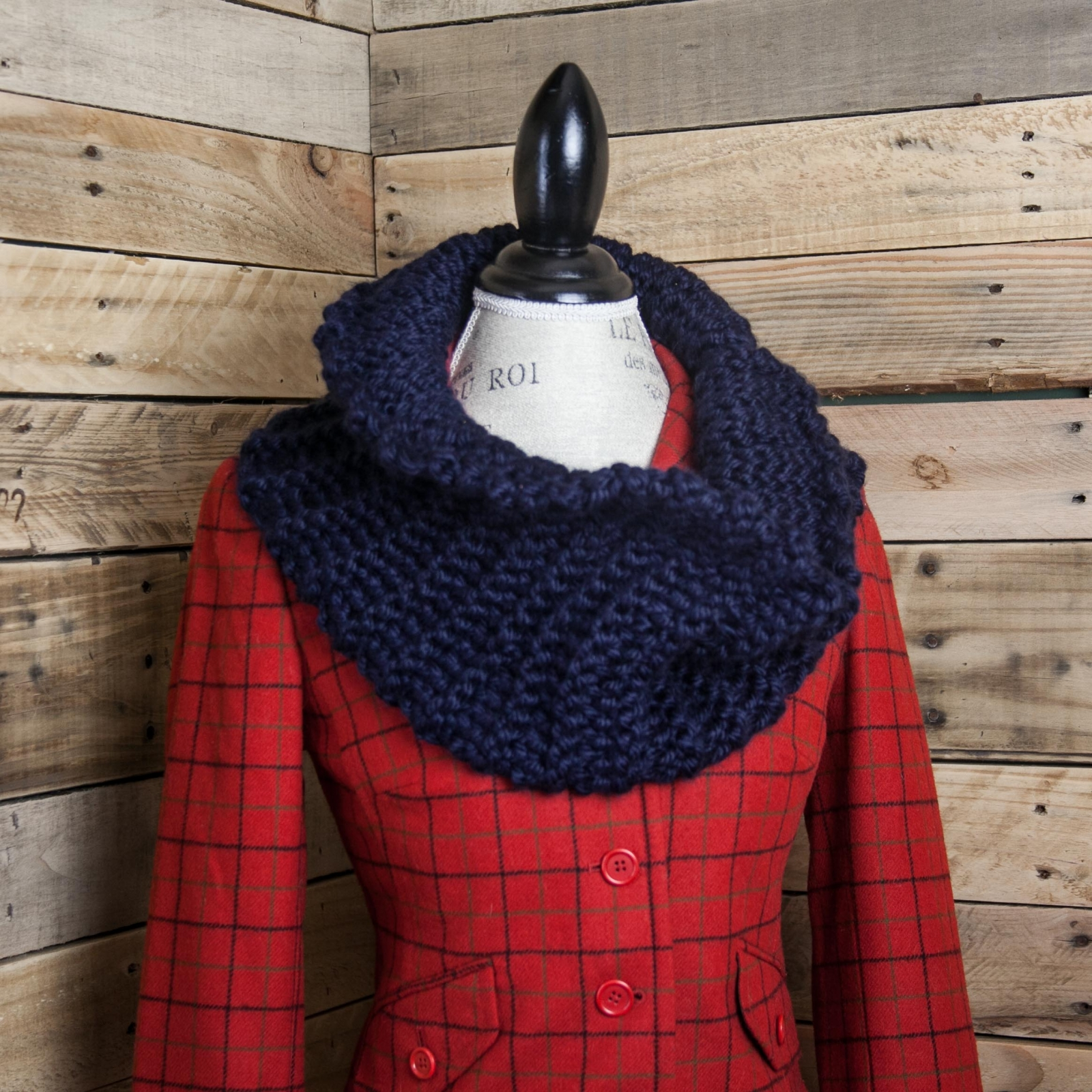 Loom Knit Sassenach Cowl Pattern Chunky Cowl Pattern This Moment