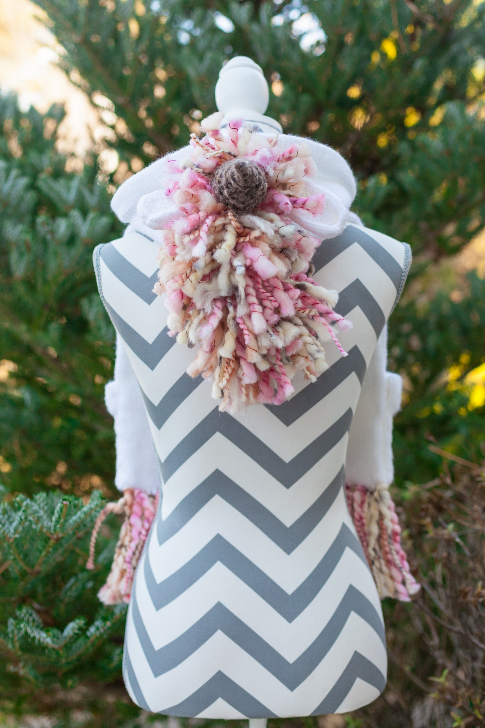 Loom Knit Unicorn Pocket Scarf With Hood Pdf Pattern