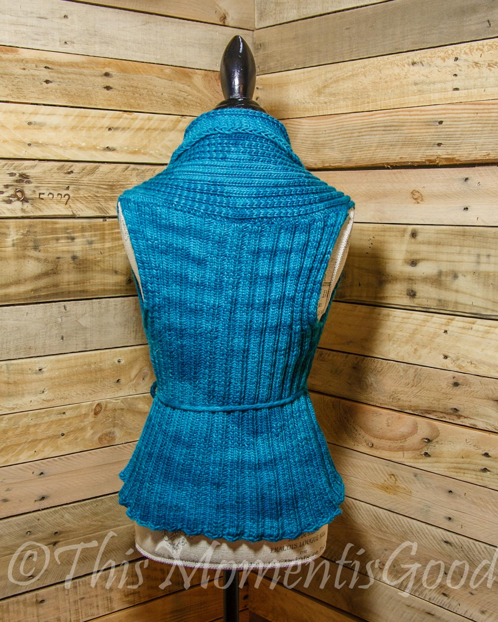 Loom Knitting Patterns For Beginners Pdf : Loom knit vest pattern the everyday ladies