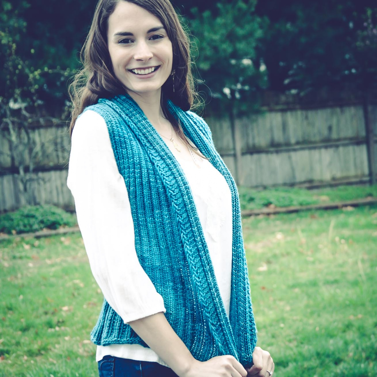 Loom Knit Vest Pattern, The Everyday Ladies Vest Pattern ...