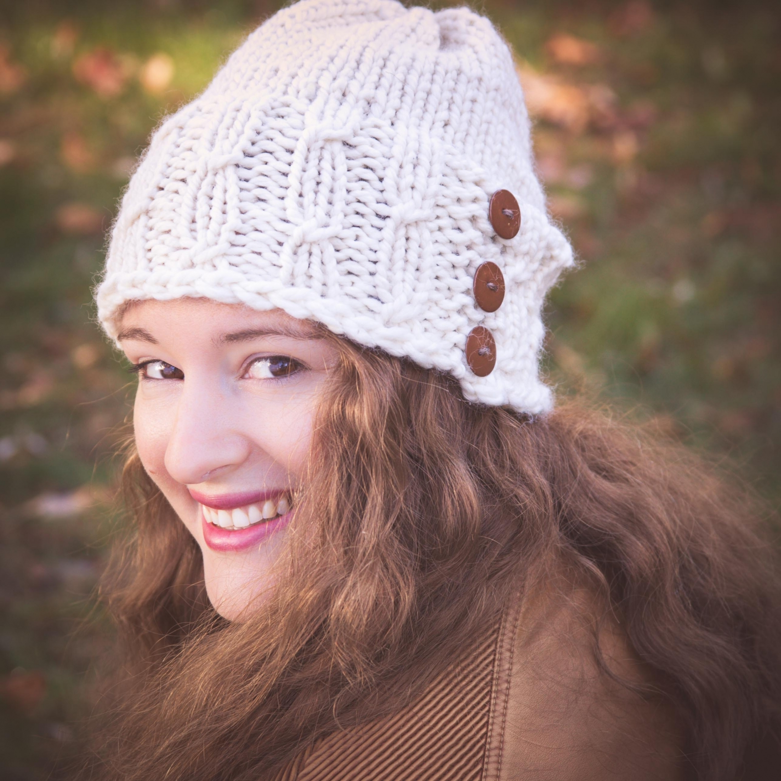 Loom Knit Hat Pattern, Meadowlands Staggered Cable Hat PATTERN ...