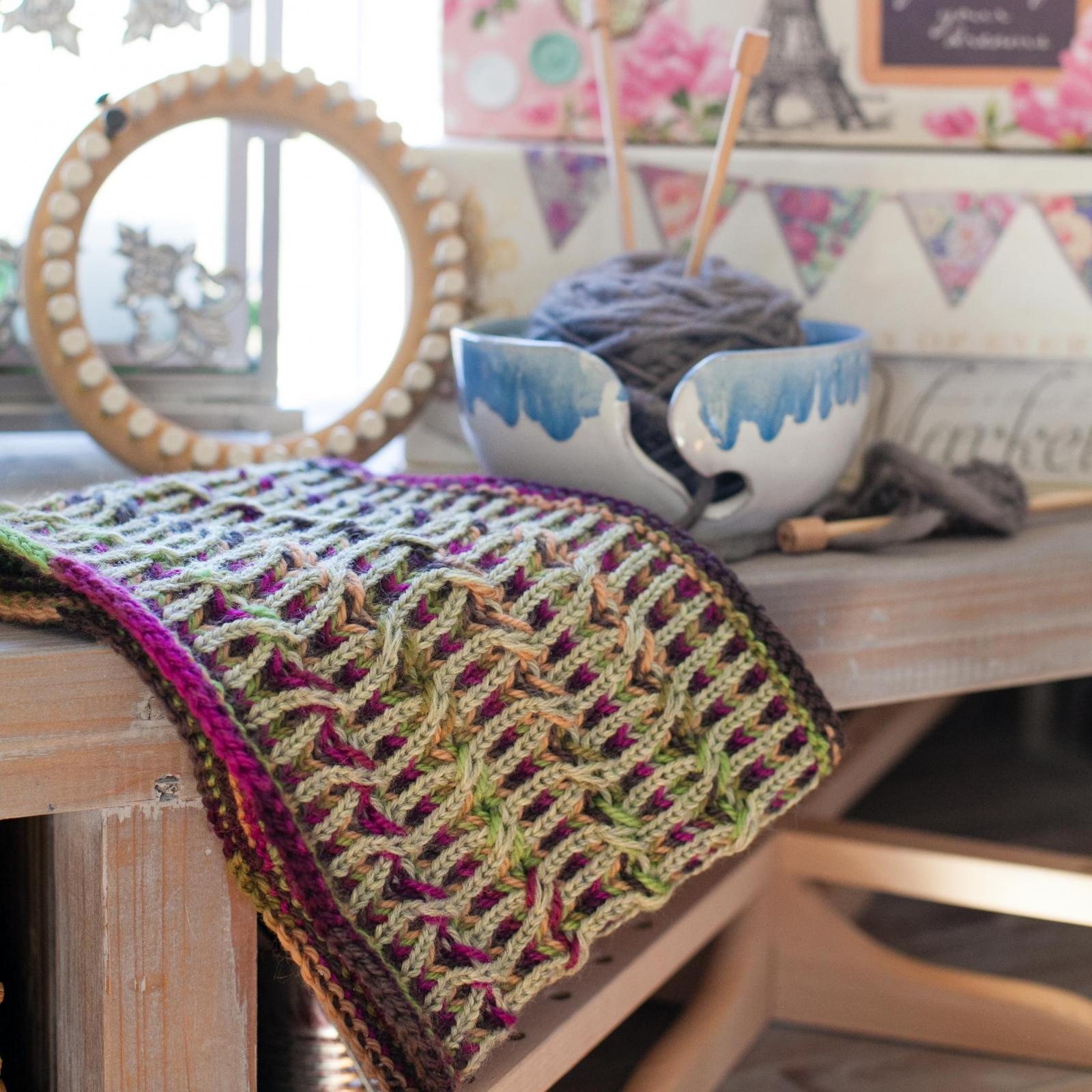 Loom Knit Brioche Cowl Pattern, Neckwarmer, Fancy Brioche ...