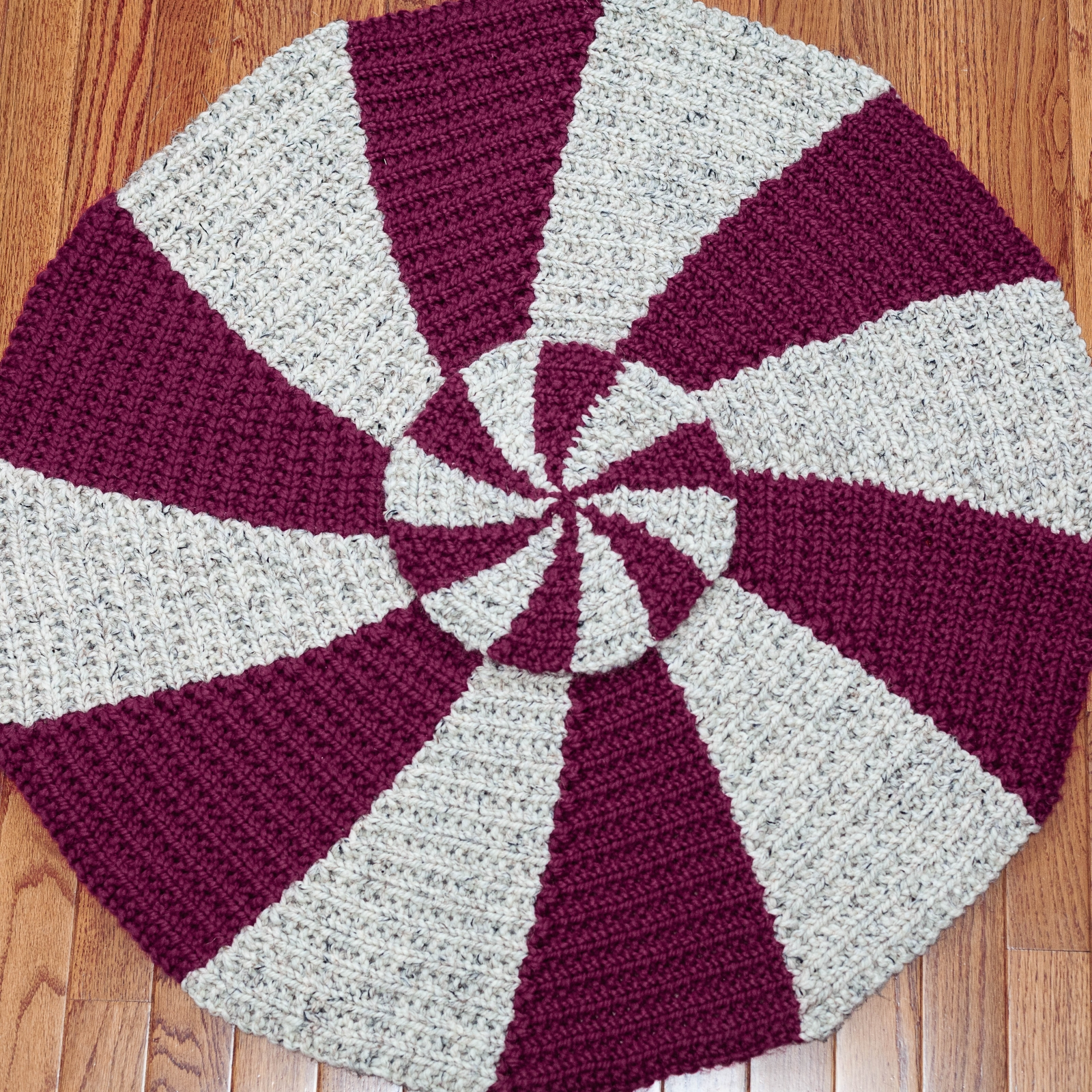 Loom Knit Rug Pattern Starlight Peppermint Pinwheel This Moment Is Good