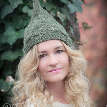 Loom Knit Pixie Hat PATTERN. Ladies/teen Pixie Hat. Elf Hat PATTERN. Instant PDF Download. Gnome Hat Pattern.