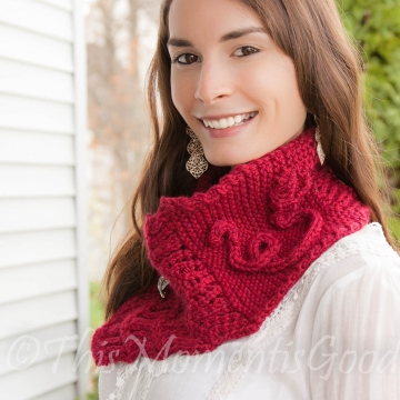 Loom Knit Cowl Pattern, Loom Knit Scarf Pattern, Loom Knit Shawl PATTERN Lace Scarf Pattern Loom Knitting Patterns. PDF PATTERN download.