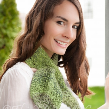 Loom Knit keyhole Scarf PATTERN loom knit Leaf Scarflet Cowl  Ascot,  Leaves and Lace.  PDF PATTERN! Available for immediate download.