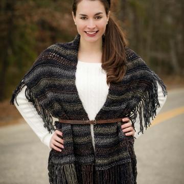 Loom Knit Wrap/Shawl
