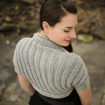 Loom Knit Shrug