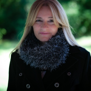 Loom Knit Faux Fur Cowl PATTERN, Inspired by the Scottish Highland Series, loom knit cowl pattern, loom knit fur cowl, loom knit scarf