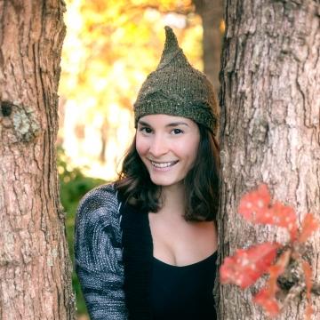 Loom Knit Pixie Hat PATTERN. Ladies/teen Pixie Hat. Elf Hat PATTERN. Instant PDF Download. Gnome Hat Pattern.