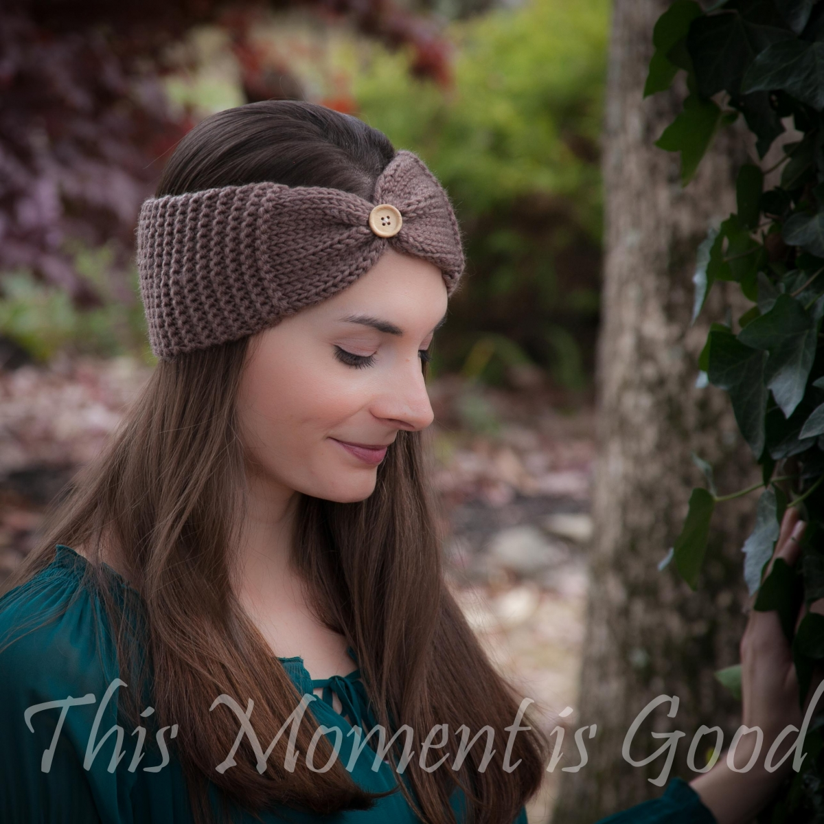 Loom Knit Headband, Earwarmer Pattern, Free. | This Moment is Good