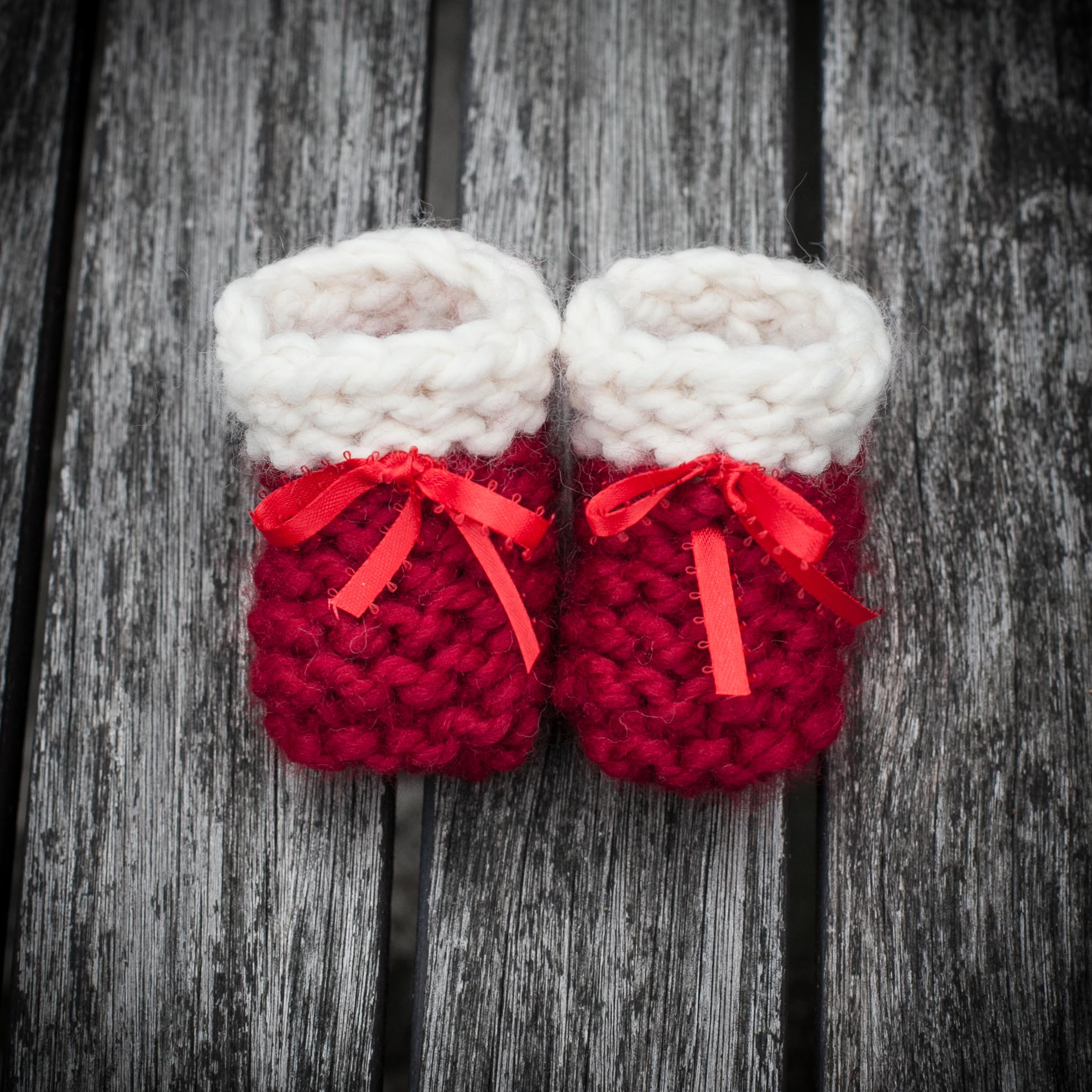 Loom knit socks, slippers, boots, footwear | This Moment is Good