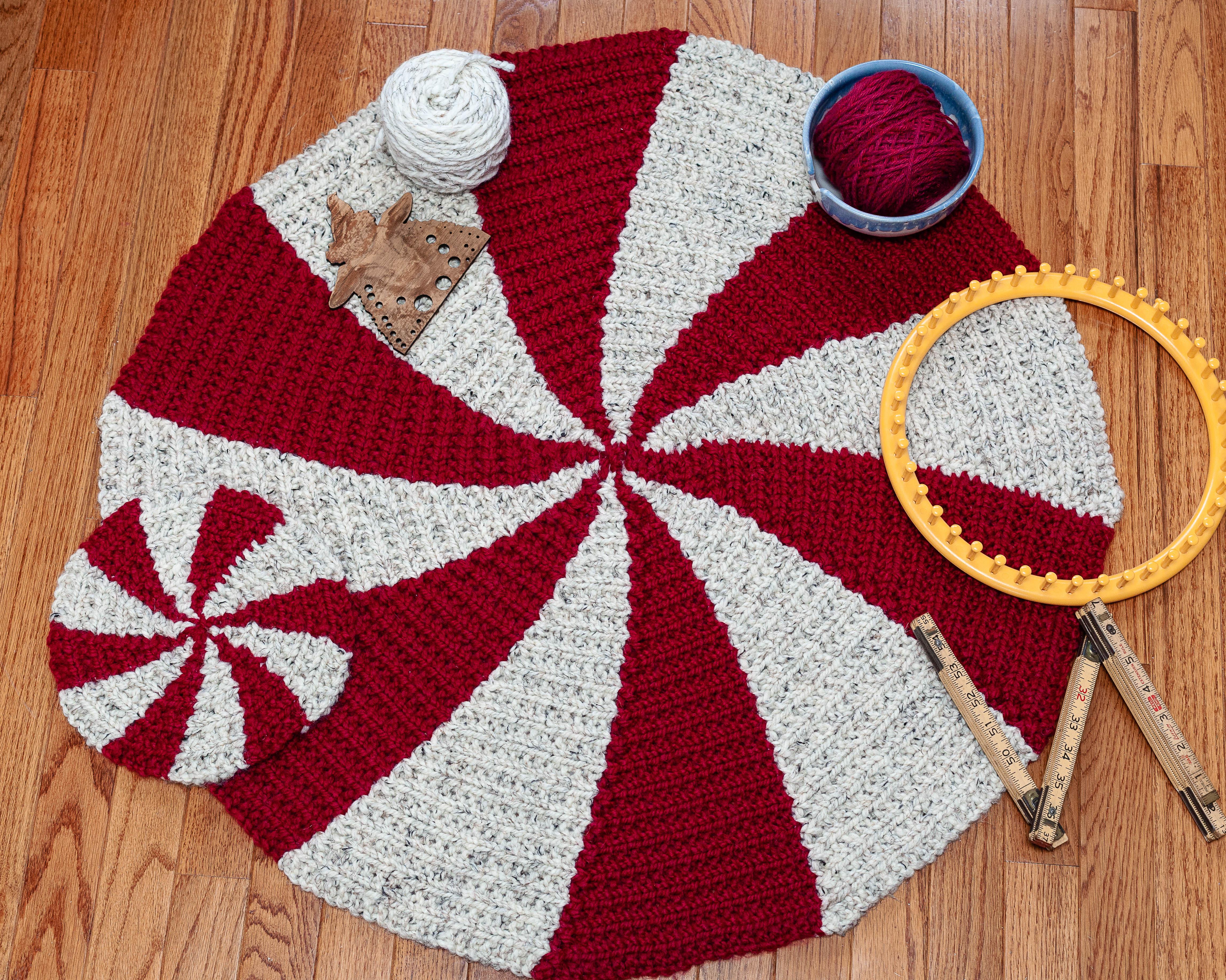 Loom Knit Rug Pattern Starlight